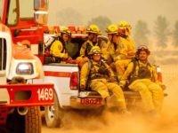 California firefighters (Noah Berger / AFP / Getty)