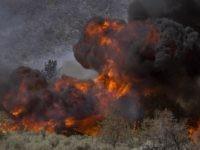 California wildfire (David McNew / Getty)