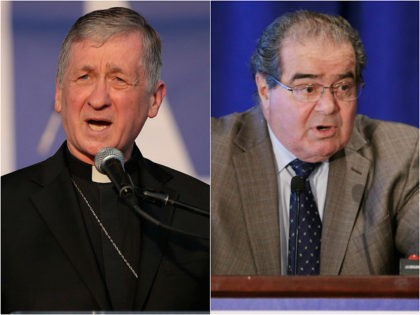 Chicago Cardinal Blase Cupich and Justice Antonin Scalia (2014)