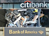 Citibank, gun control, Bank of America