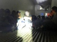 Border Patrol agents find 78 illegal aliens locked in refrigerated tractor-trailer. (Photo: U.S. Border Patrol/Laredo Sector)