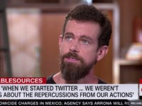 Twitter's Dorsey: 'I Fully Admit' My Bias 'Is More Left-Leaning'