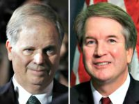 Doug Jones, Brett Kavanaugh