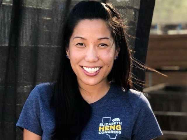 GOP candidate Elizabeth Heng whose ad has been reinstated by Facebook