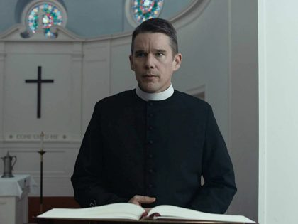 than Hawke and Amanda Seyfried in First Reformed ( Killer Films, 2017)