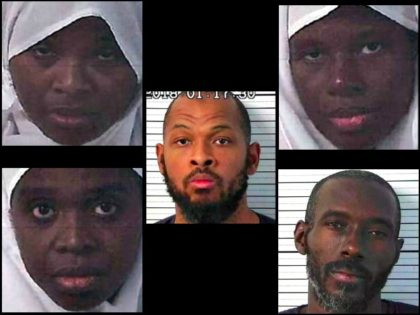 Five New Mexico Suspects Arrested by FBI