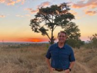 Sen. Jeff Flake (R-AZ) posted this image of himself in Zimbabwe on July 29.