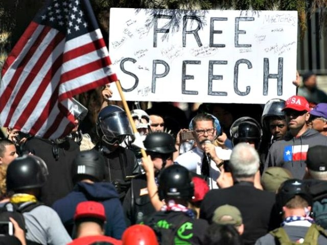 Free Speech Rally