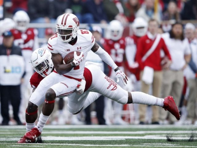 Wisconsin receiver Quintez Cephus charged with felony sexual assault