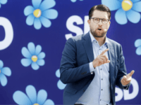 'Black-clad' Individuals Set Populist Sweden Democrats Election Kiosk On Fire