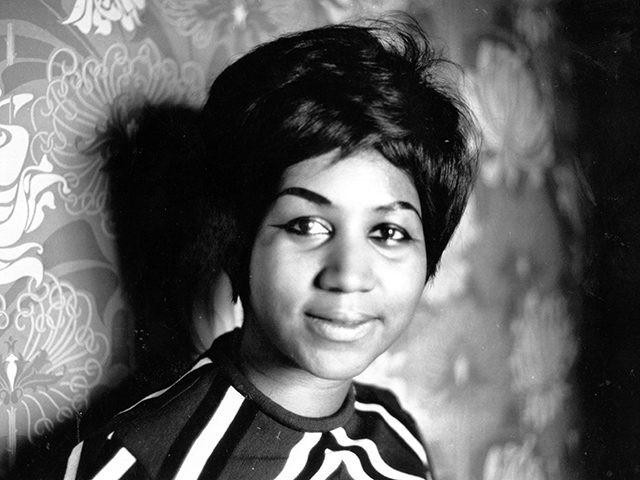 American soul singer Aretha Franklin, a star on the Atlantic record label. (Photo by Express Newspapers/Getty Images)