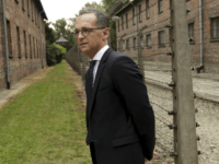 German Foreign Minister Heiko Maas visits the former German Nazi Death Camp Auschwitz Birkenau in Oswiecim, Poland, Monday, Aug. 20, 2018. (AP Photo/Jarek Praszkiewicz)