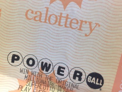 California Lottery (Joel Pollak / Breitbart News)