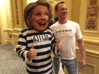 Hillary Clinton - Lock Her Up (Joel Pollak / Breitbart News)