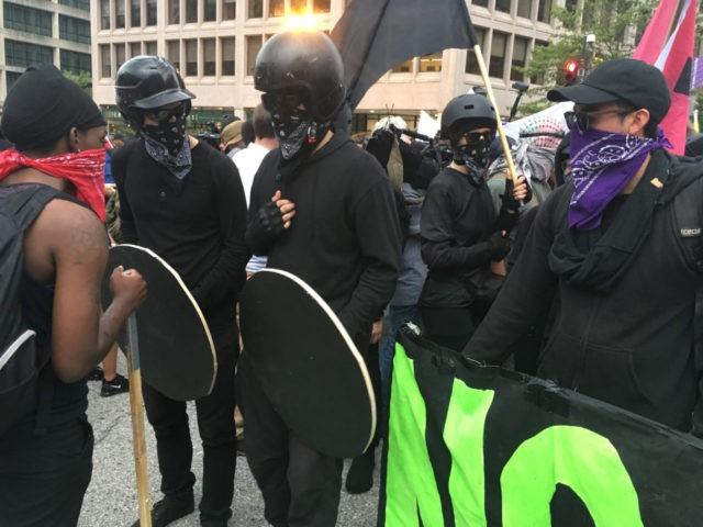 Antifa DC Protest