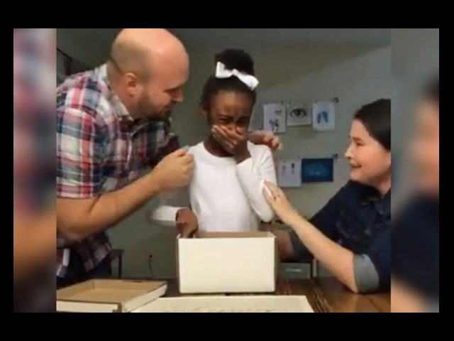 After three years in foster care, 10-year-old Ivey Zezulka's emotional reaction to finding out she would be adopted by her foster family was stemmed by not only joy, but relief as well.