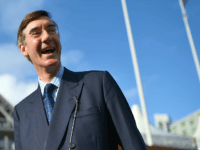 British Conservative politician Jacob Rees-Mogg arrives at the Manchester Central Convention Centre in Manchester on October 3, 2017, the third day of the Conservative Party annual conference. / AFP PHOTO / Oli SCARFF (Photo credit should read OLI SCARFF/AFP/Getty Images)