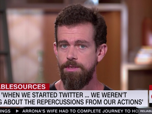 Twitter's Dorsey: 'We Are Not' Discriminating Against Any Political Viewpoint | Breitbart