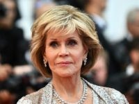 US actress Jane Fonda poses as she arrives on May 14, 2018 for the screening of the film 'BlacKkKlansman' at the 71st edition of the Cannes Film Festival in Cannes, southern France. (Photo by Anne-Christine POUJOULAT / AFP) (Photo credit should read ANNE-CHRISTINE POUJOULAT/AFP/Getty Images)