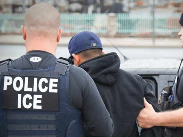 An illegal immigrant from who was arrested in California while driving his pregnant wife to a hospital was facing a warrant for his arrest in Mexico on homicide charges, ICE officials said. (Associated Press, File)