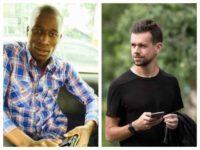 Kenyan Blogger Cyprian Nyakundi and Twitter CEO Jack Dorsey