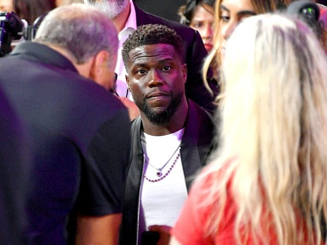 Kevin Hart attends the 2018 MTV Video Music Awards at Radio City Music Hall on August 20, 2018 in New York City. (Photo by Dia Dipasupil/Getty Images for MTV)