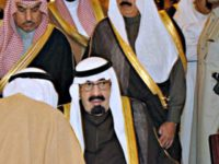 King Abdullah (centre), who ratified the death sentences.
