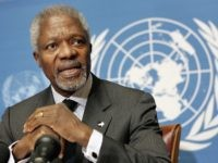 Kofi Annan (Fabrice Coffrini / AFP / Getty)