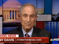 Lanny Davis: Cohen 'More Than Happy To Tell the Special Counsel All That He Knows'