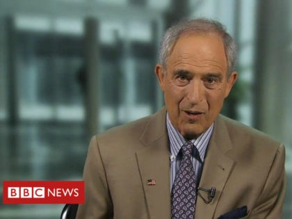 """Lanny Davis, a staunch ally of the Clintons who is now representing former Trump lawyer Michael Cohen, emphatically called all Steele dossier allegations about his new client """"false"""" in an interview Wednesday night on BBC."""