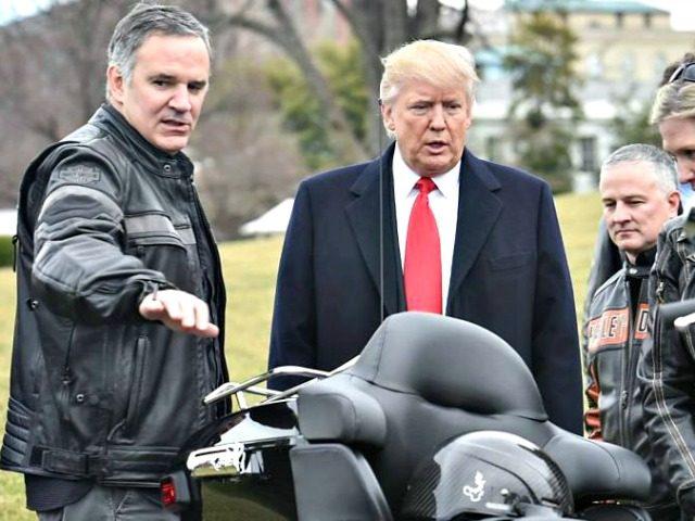 Mett Levatich, Trump, Harley