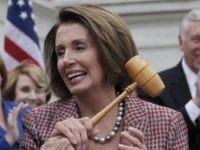 More Nancy Pelosi gavel grab (Charles Dharapak / Associated Press)
