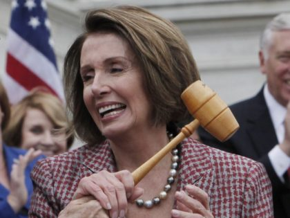 More Nancy Pelosi gavel grab (Charles Dharapak / Associated Press)