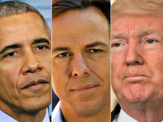 Obama, Tapper, Trump