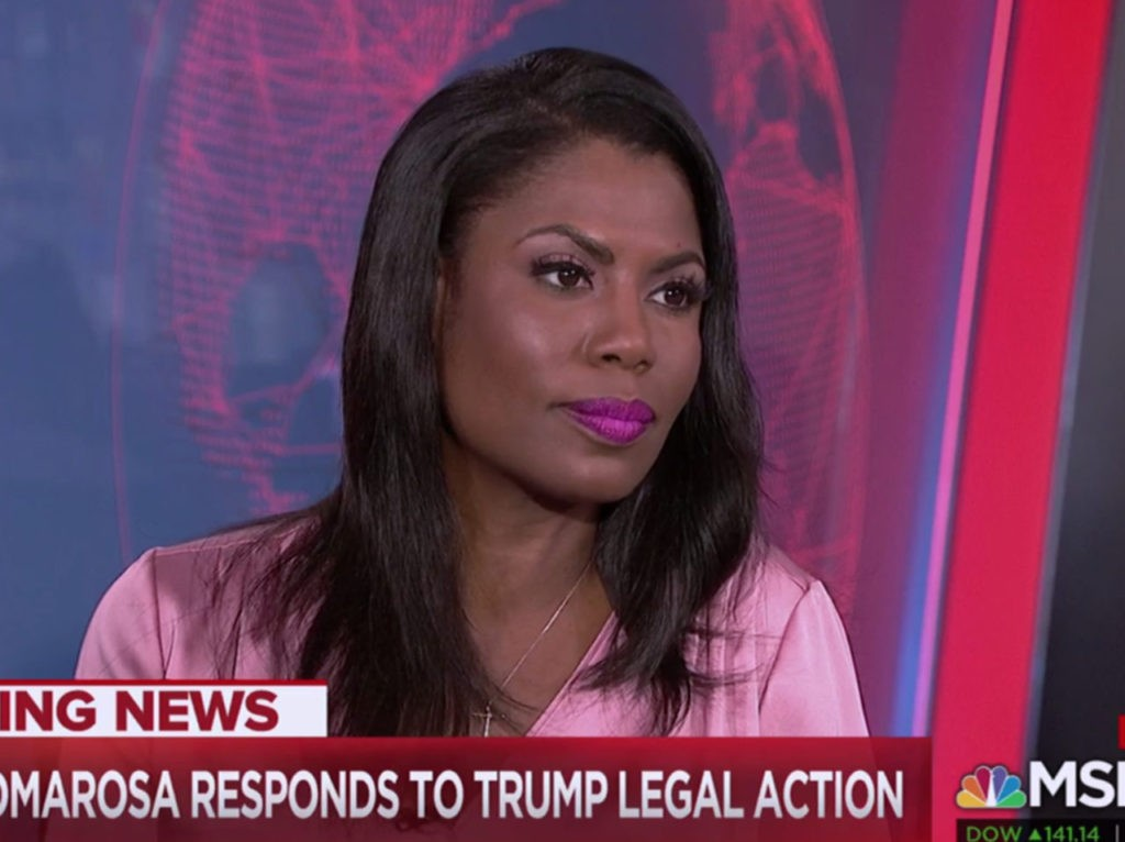 Omarosa: Trump Very Physical with Women, Would Grab, Kiss Them Without Permission