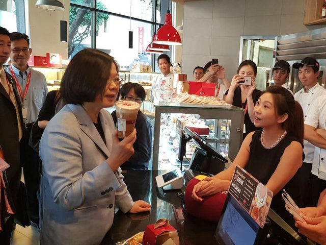 China has threatened a boycott of 85C, a popular Taiwanese bakery, after Taiwan's President Tsai visited a store in California on Sunday during a short stopover trip in the United States.