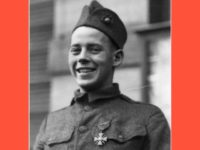 Private John J. Kelly, USMC, awarded the Medal of Honor for actions at Blanc Mont