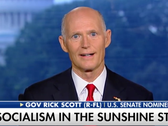 FL Gov. Scott: Left-wing Activists, Democratic D.C. Lawyers Trying 'to Steal This Election' | Breitbart