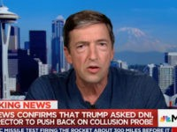 Ron Reagan Jr: Trump Is an 'Imbecilic Sociopath,' Dragging the Presidency 'Through the Gutter'