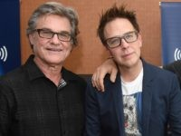 Actor Kurt Russell, director James Gunn and actors Chris Pratt and Zoe Saldana attend SiriusXM's Entertainment Weekly Radio Channel Broadcasts From Comic-Con 2016 at Hard Rock Hotel San Diego on July 22, 2016 in San Diego, California. (Photo by Vivien Killilea/Getty Images for SiriusXM)