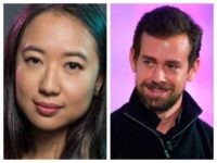 New York Times editorial board member Sarah Jeong and Twitter CEO Jack Dorsey