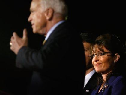 Sarah Palin and John McCain (Chip Somodevilla / Getty)