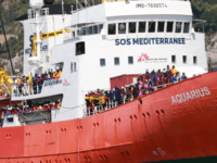 The Aquarius migrants rescue ship