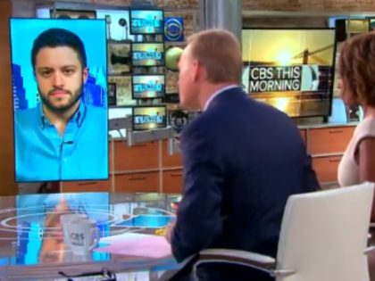 Defense Distributed's Cody Wilson shut down John Dickerson's gun control rant during an appearance Wednesday on CBS This Morning.