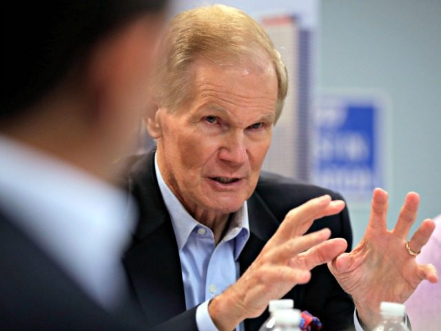 Sen. Bill Nelson D-Fla. speaks during a roundtable discussion with education leaders from South Florida at the United Teachers of Dade headquarters Monday Aug. 6 2018 in Miami