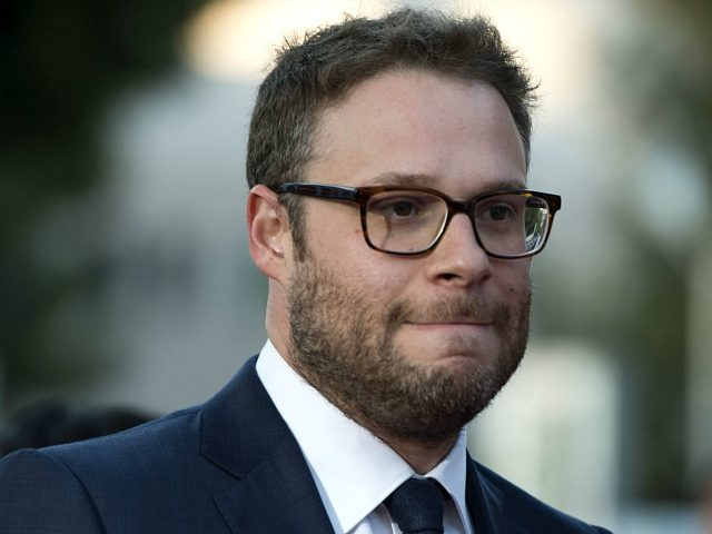 Writer/producer/actor Seth Rogen attends the American Premiere of Universal Pictures 'Neighbors 2: Sorority Rising' in Westwood, California, on May 16, 2016. / AFP / VALERIE MACON (Photo credit should read VALERIE MACON/AFP/Getty Images)