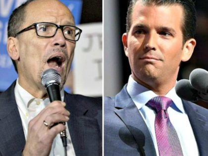 Tom Perez, Donald Trump Jr.
