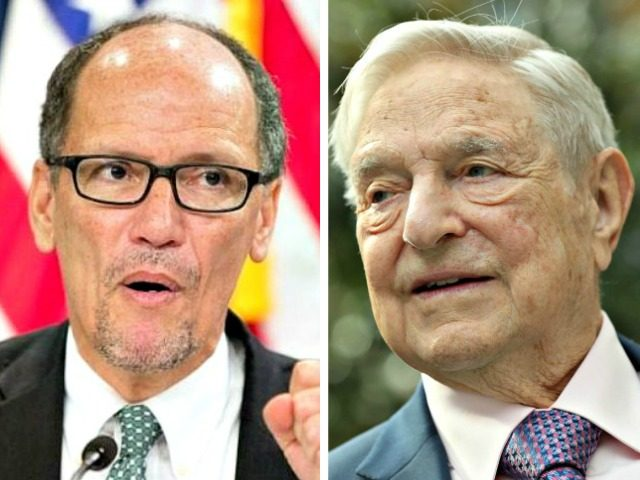 Tom Perez, George Soros