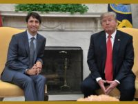President Trump and Canadian Prime Minister Justin Trudeau.
