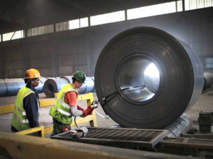 American steel: The 25% tariff on steel has bolstered the economic case for using locally made steel. Moody's Investors Service on May 31, 2018 raised its outlook for the U.S. steel industry from stable to positive, in part due to the tariff decision. Workers band a steel coil that was …